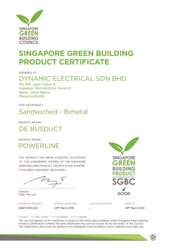 BUSDUCT | POWERLINE | DYNAMIC ELECTRICAL SDN  BHD  | DE
